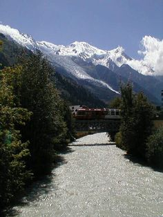 Arve River in Chamonix Turin, Chamonix Mont Blanc, Rhone, France, Places To Visit, Monster Mash, World, Summer, Travel