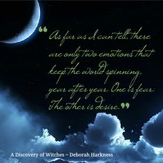 A Discovery of Witches by Deborah Harkness, one of the best books ever.