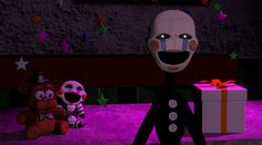 Puppet SFM- Silent Night- (My animation) Fnaf Photos, Baby Puppet, Marionette Fnaf, Fnaf Characters, Fictional Characters, Freddy 2, Freddy Fazbear, You're My Favorite, Sister Location