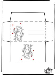 Envelop Valentijn 1