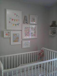 Gallery Wall: bunting print
