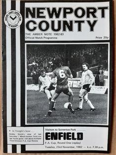 Newport County, British Football, Football Program, Baseball Cards, Uk Football