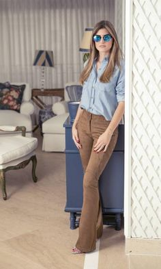 Vista o Look Classy Outfits, Cool Outfits, Casual Outfits, Fashion Outfits, Womens Fashion, Fashion 2017, Work Fashion, Fashion Looks, Office Looks