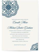 Ornamental Wedding Invitations from Minted