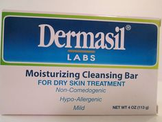 Dermasil Labs Moisturizing Cleansing Bar for Dry Skin Treatment Pack of 3 ** Details can be found by clicking on the image. (This is an affiliate link) Dry Sensitive Skin, Dry Skin, Types Of Facials, Facial Bar, Acne Solutions, Skin Cleanse, Best Natural Skin Care, Face Cleanser, Best Face Products