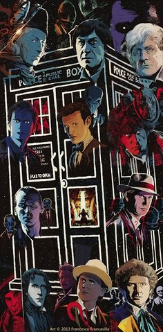 DOCTOR WHO ~ PRISONERS OF TIME  12 Cover Puzzle by Francesco Francavilla