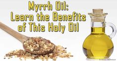 "A ""holy oil"" used as incense, myrrh oil offers a wealth of benefits and uses – discover more about its unique composition in this article.     http://articles.mercola.com/herbal-oils/myrrh-oil.aspx"