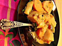Πατάτες γιαχνί… ινδικού τύπου!