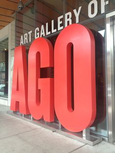If you like art, check out the Art Gallery of Ontario. Visit Toronto, Toronto City, Art Gallery Of Ontario, Alex Colville, Going To University, My Land, New Paris, True Art, Places Around The World
