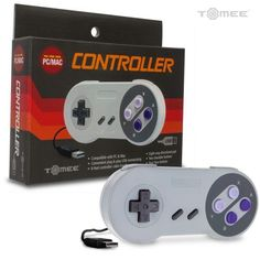 Hyperkin Tomee Super Nintendo (SNES) Controller to USB PC / MAC - New #Hyperkin