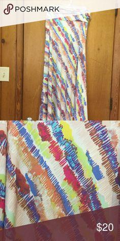 LuLaRoe Maxi S Silky LuLaRoe Maxi. Worn once and washed to LLR specifications. LuLaRoe Skirts Maxi