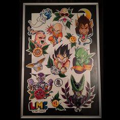 Afbeeldingsresultaat voor dragonball flash tattoo