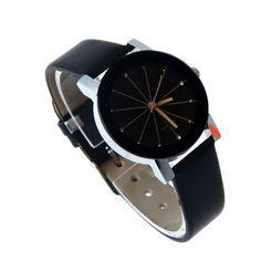 2016 Relogio feminino Mulheres de Couro Relógio De Quartzo Analógico Dial Hour Digital Relógio De Pulso Reloj Mujer Rodada Caso Relógio de Tempo Presente Senhora