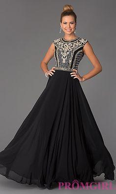 Long Beaded Prom Dress JVN24413 by Jovani at PromGirl.com #promgirl #dress #jvn #jovani