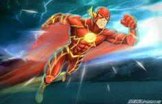 Flash - The Fastest Man Alive by shamserg.deviantart.com on @DeviantArt