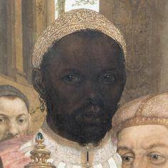 "medievalpoc: "" Anonymous artist (Netherlandish) The Adoration of the Magi…"