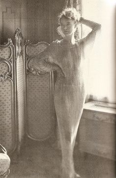11-11-11 A touch of the shimmers: Lillian Gish, circa 1928