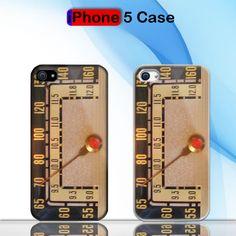 Vintage Clasic Radio Custom iPhone 5 Case Cover