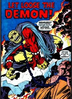 The Demon ~ Jack Kirby