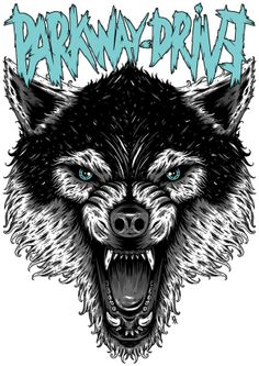 Parkway Drive (wolf) on Behance