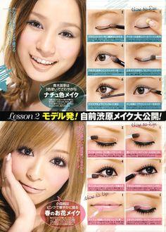 Asian eye make up tutorial // natural look