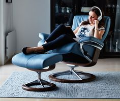 Stressless Relaxsessel Peace L - Stressless steht als Synonym für absoluten Sitzkomfort in nordischer Eleganz.  @Stressless