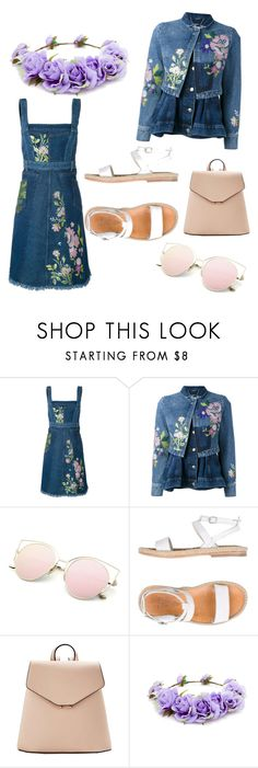 """""""Untitled #906"""" by helenaki65 ❤ liked on Polyvore featuring Alexander McQueen, n.d.c., MANGO and Forever 21"""