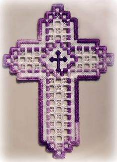 Hardanger bookmark (Mildred's)