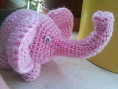 Elefante: amigurumi