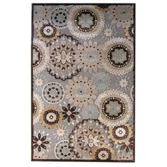 Lanart Soleil Steel 5 ft. x 7 ft. 6 in. Area Rug-SOLEIL5X8ST at The Home Depot