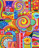 Mixed Media Art from Thaneeya McArdle, Art is Fun
