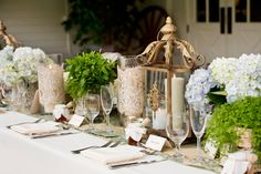 Organic Succulent and Herb Wedding