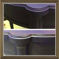 Image result for purple glazed furniture