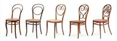 Thonet chair . 1859 . Michael Thonet