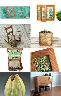 JW Art Pottery has a piece featured in this Etsy treasury, The Summer Bungalow, by Noelle Hagan |  #CAPCA