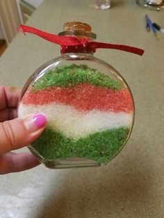 Check out this item in my Etsy shop https://www.etsy.com/listing/476685214/christmas-assorted-scented-bath-salts
