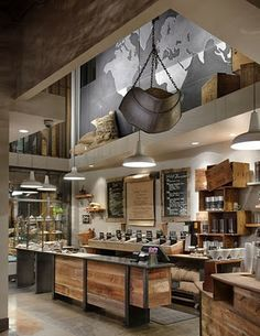 New Starbuck's design.  Can't wait to see one in person!  Love the industrial look!