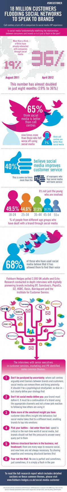 The Social Media Customer [Infographic]