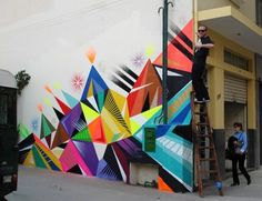 A big Abstract Wall from MWM Graphic