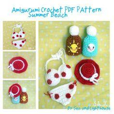 Colourful Summer Beach Amigurumi Crochet Pattern by seaandlighthouse (K.Wanherm), http://www.amazon.com/dp/B00BH1HAHW/ref=cm_sw_r_pi_dp_VK5Btb0YC1713