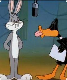 Looney Tunes Funny, Looney Tunes Cartoons, Old Cartoons, Classic Cartoons, Disney Cartoons, Cartoon Icons, Cartoon Memes, Cartoon Art, Bugs Bunny Quotes