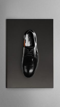 #engagementparty Burberry Polished Leather Officer Shoes. $495. @Burberry