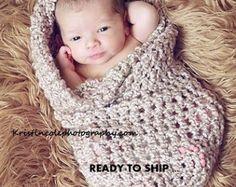 Kokon Ei neugeborenes Baby wickeln Foto Prop in brauner Zucker / Fotografie Prop alle Babys Mädchen Jungen Foto schießen / perfekt Geschenk Neugeborene New Baby