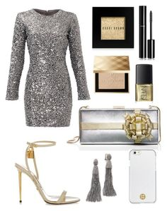"""""""sparkling cocktail"""" by yourselffashion ❤ liked on Polyvore featuring Kate Spade, Tom Ford, Slate & Willow, Burberry, Bobbi Brown Cosmetics, Chanel, Tory Burch and Oscar de la Renta"""
