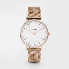 La Bohème Mesh Rose Gold/White