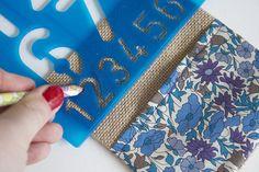 Liberty print bunting advent calendar craft tutorial | Liberty.co.uk Blog