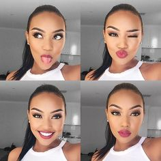 #inspiration #makeup Literally sooo stunning! Love ur gorge makeup, diva…