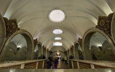 Paveletskaya (Moscow metro) by AlexanderPolomodov