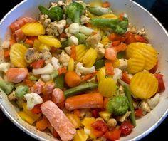 Naleśniki zapiekane z mięsem i warzywami - Blog z apetytem Cobb Salad, Blog, Blogging