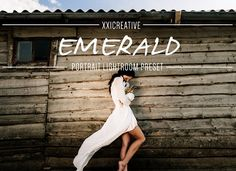 Emerald |Moody| LR Preset by XXICREATIVE on @Graphicsauthor